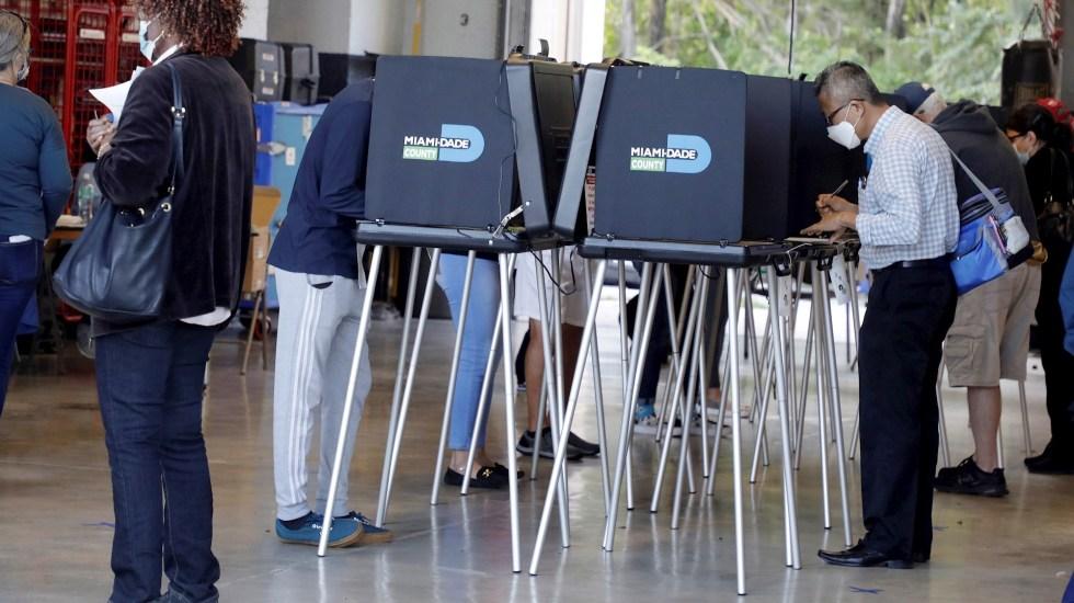 """Autoridades en Miami aseguran que no hay """"amenazas creíbles"""" de ataques durante jornada electoral - Miami votos Estados Unidos"""