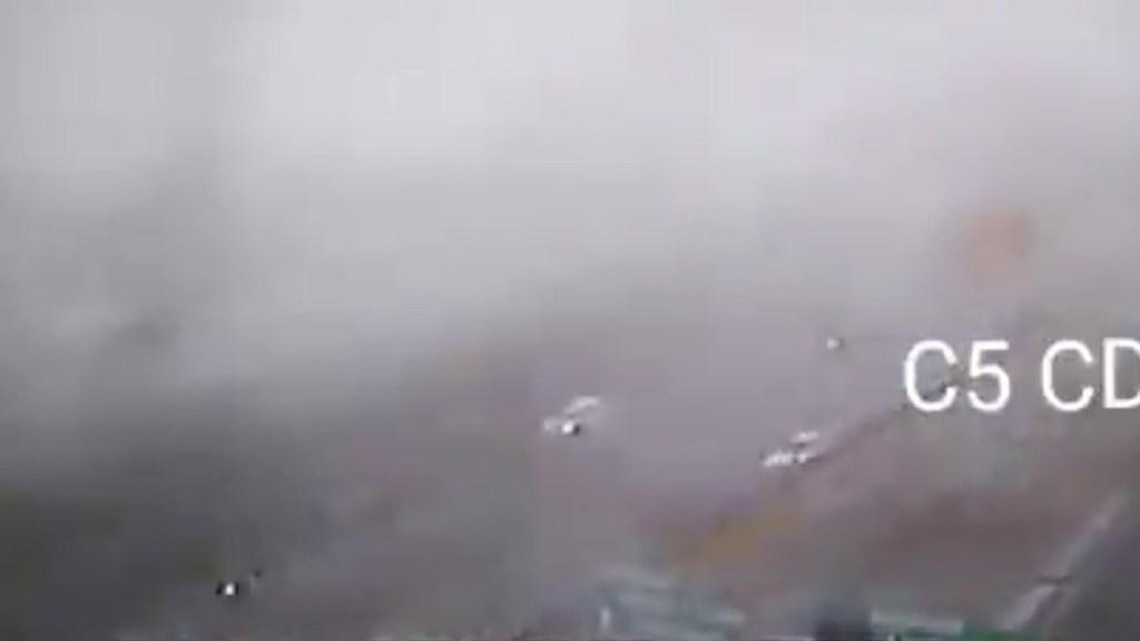 Reanuda operaciones el AICM tras suspensión por banco de niebla - Foto de C5