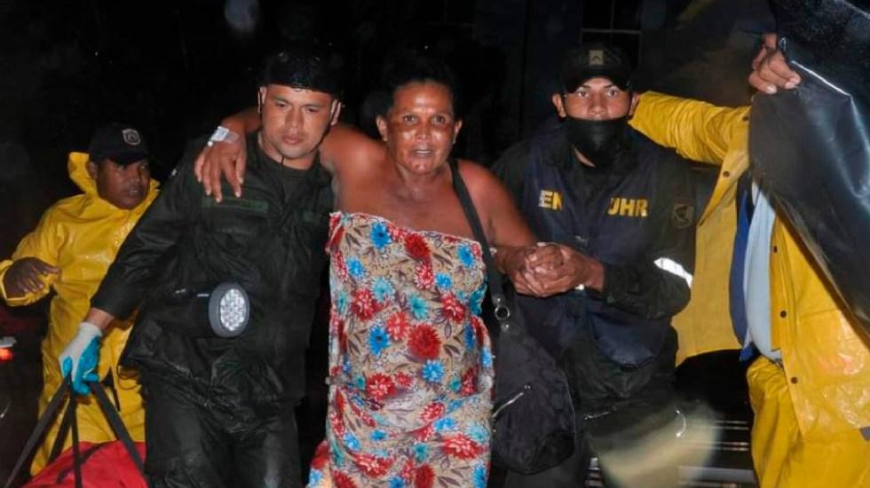 Huracán 'Iota' ya causa estragos en Nicaragua; el más potente en la historia, según autoridades - Foto Twitter @EjercitoNic