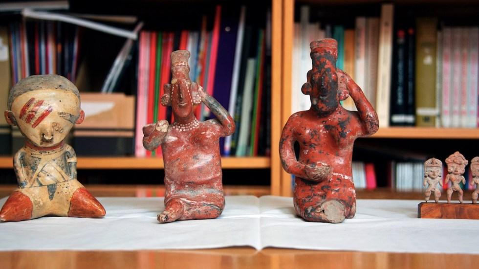 Australia devuelve a México cuatro piezas arqueológicas confiscadas tras ser vendidas en internet - Foto de EFE