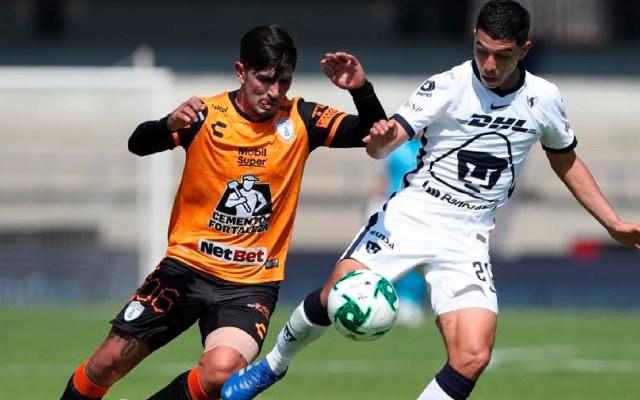 Pumas avanza a semifinales del Apertura 2020 al empatar sin goles con Pachuca - Pumas avanza a semifinales del Apertura 2020 al empatar sin goles con el Pachuca. Foto EFE