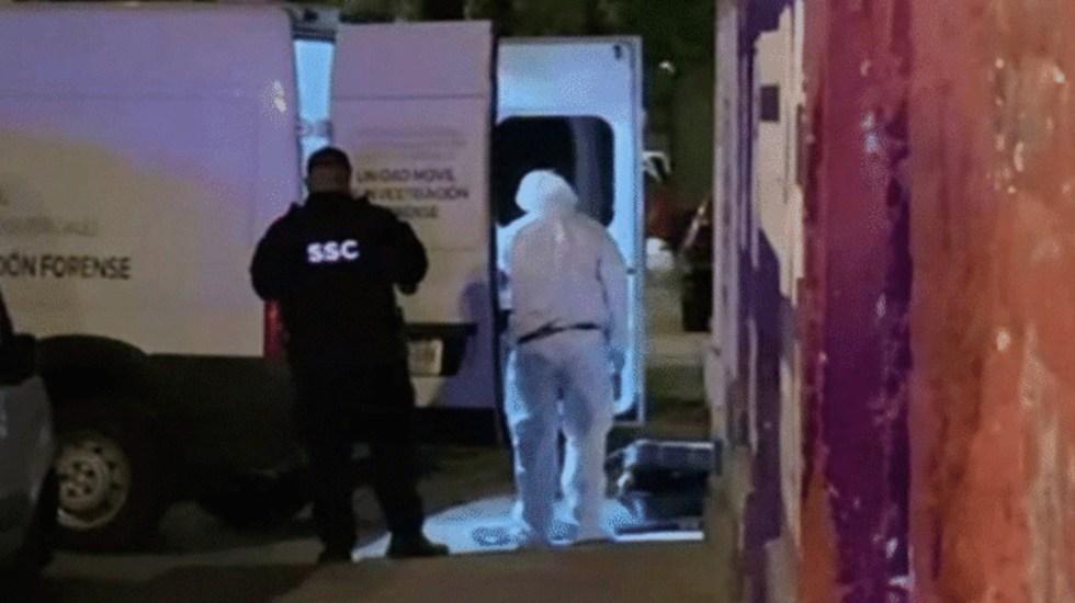 Detienen a dos señalados por abandonar restos humanos en una maleta en la colonia Guerrero - Foto Especial