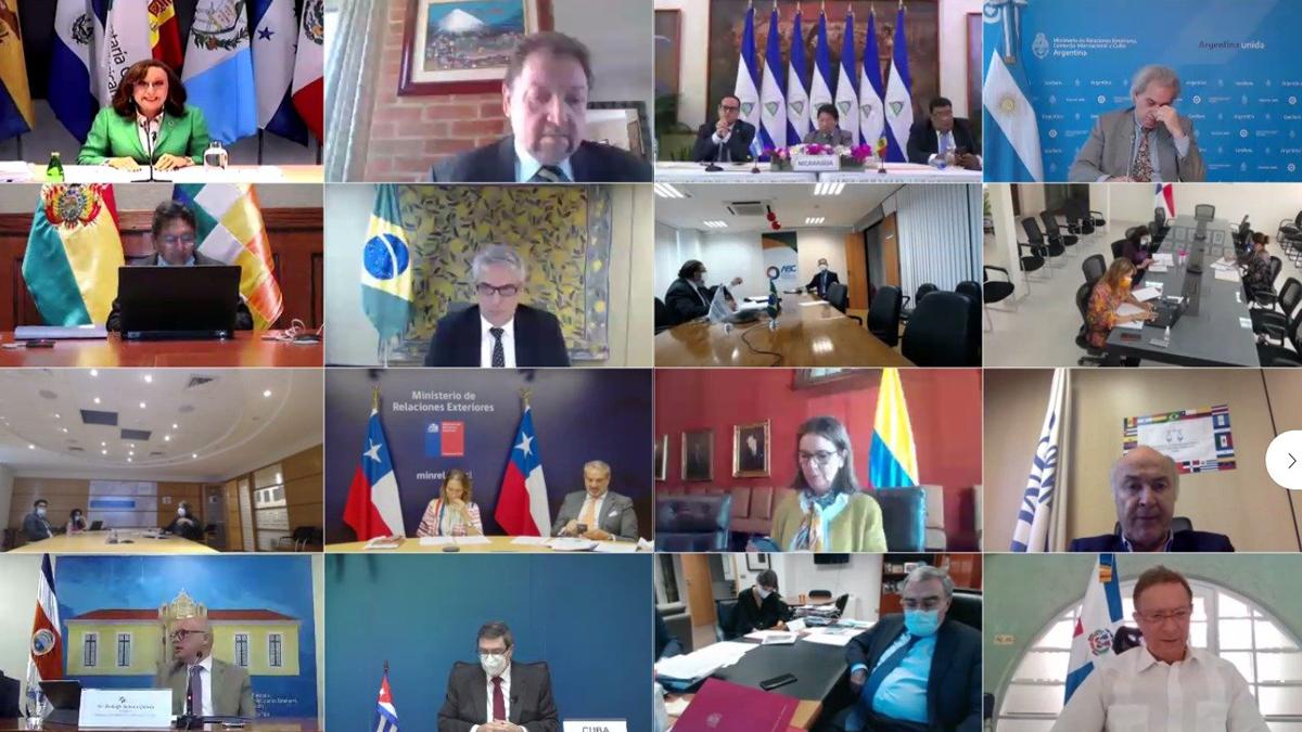 Participa Cuba en reunión extraordinaria de cancilleres de la Conferencia Iberoamericana