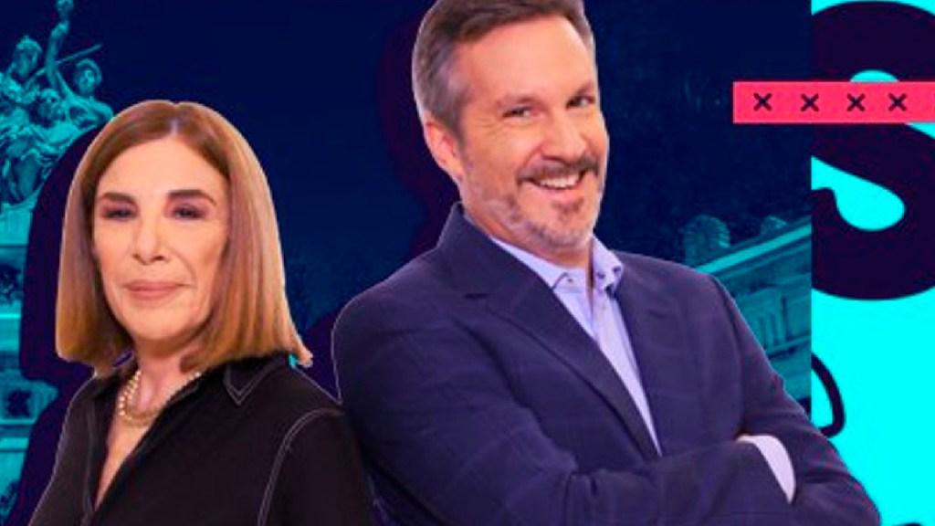 Sabina Berman acusa a John Ackerman de adueñarse de programa 'John y Sabina' en Canal 11 - Foto Twitter @JohnYSabina