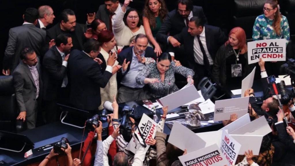 Denuncia en mi contra es estrategia política de Morena, asegura Gustavo Madero - Foto de Notimex/Archivo