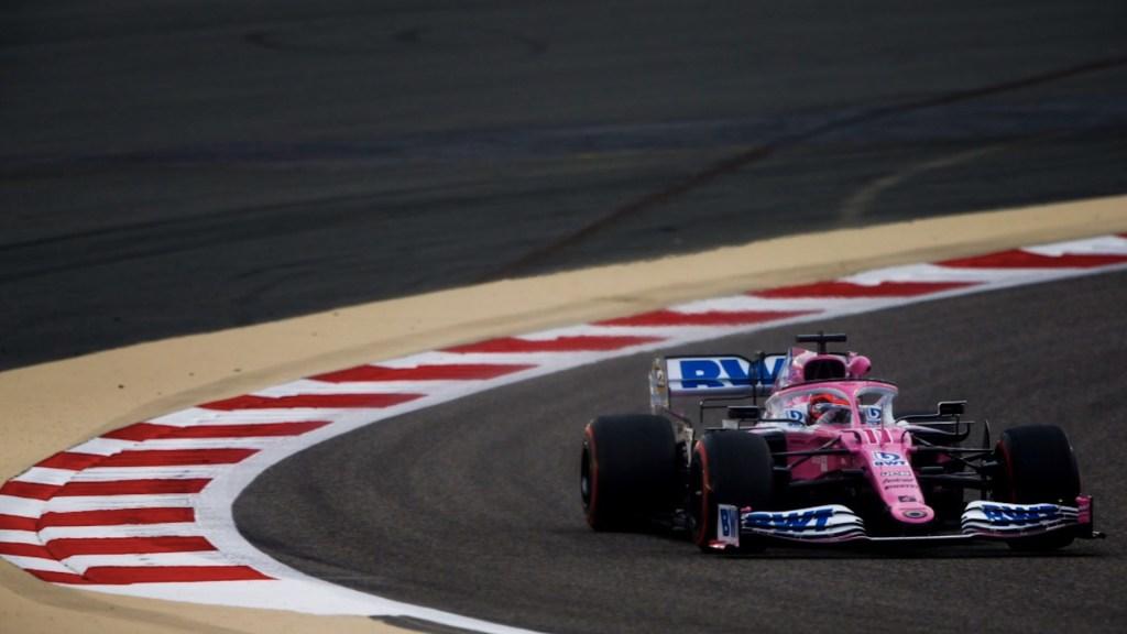 'Checo' Pérez arrancará en quinta posición en el Gran Premio de Baréin; Hamilton alcanza su pole 98 - Foto de Twitter Checo Pérez