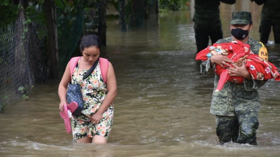 Inicia el pago de apoyos a damnificados por inundaciones en Tabasco - Foto de Twitter CNPC