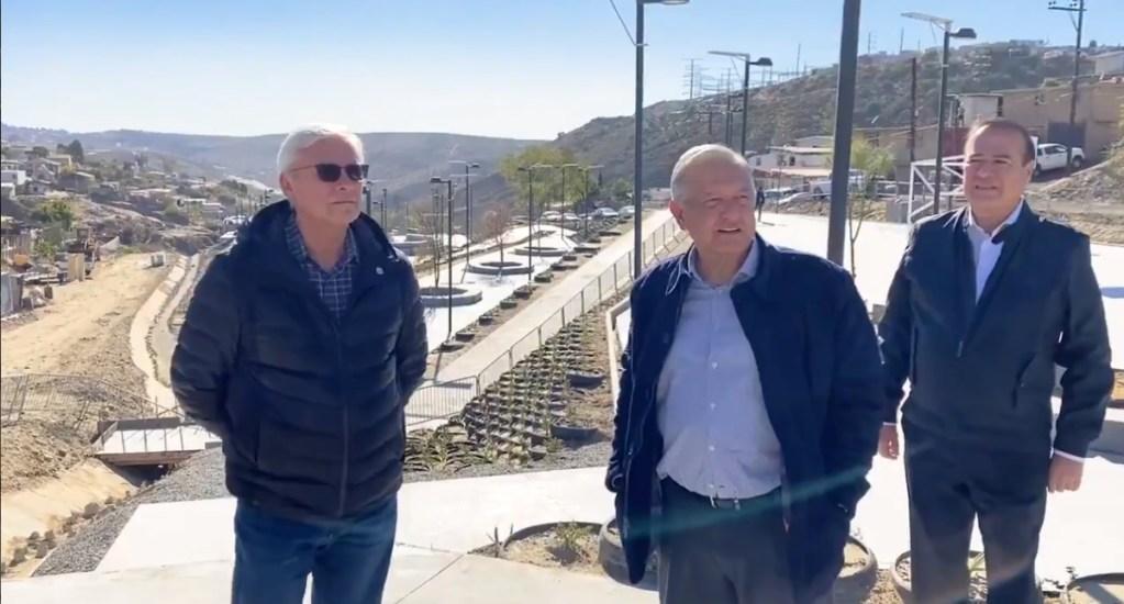 #Video López Obrador presume avances del Programa de Mejoramiento Urbano en Tijuana - Tijuana Mejoramiento urbano México