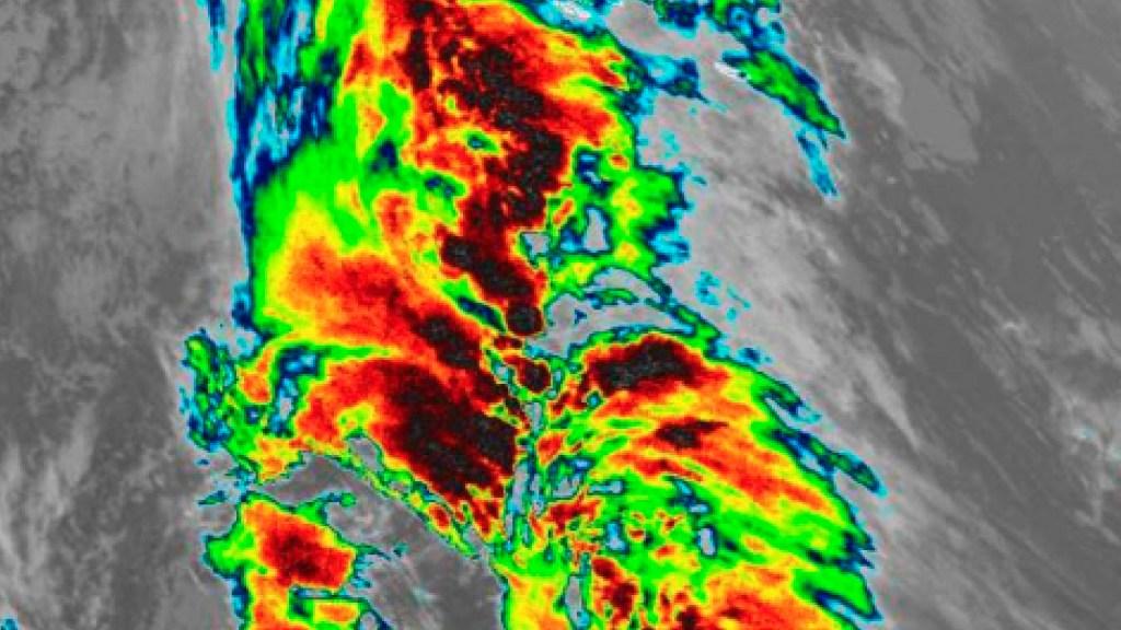 Tormenta subtropical 'Theta' se forma en el Atlántico; nuevo récord de tormentas nombradas en una temporada - Foto Twitter @NHC_Atlantic