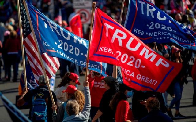 Miles de seguidores de Trump claman en Washington contra resultado electoral - Foto de EFE