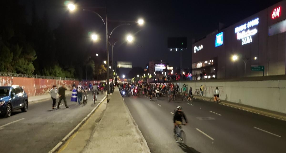 Viaducto Cuauhtémoc protesta bloqueo 2