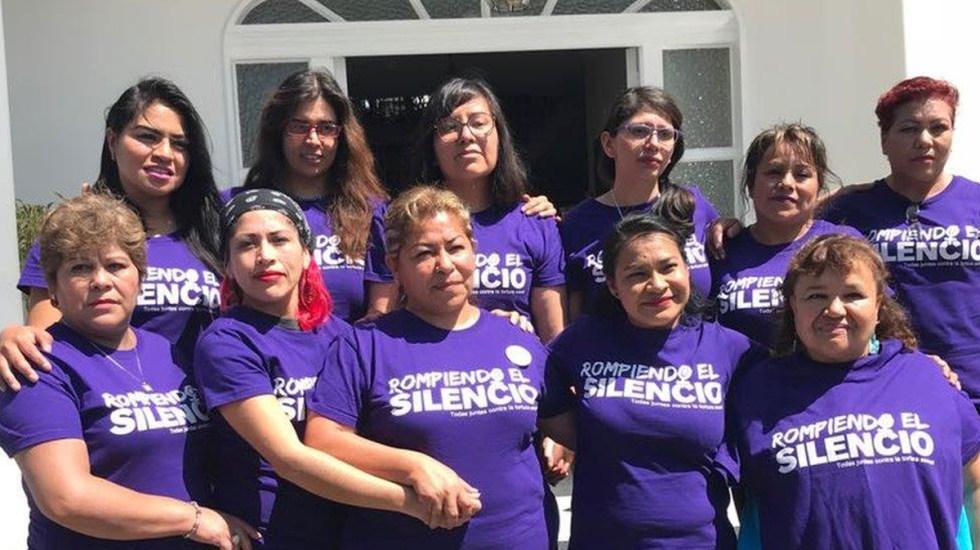 Ordena juez a FGJEM entregar a FGR investigación sobre caso 'mujeres de Atenco' - Víctimas de tortura y violación en San Salvador Atenco en 2006. Foto de @prodh
