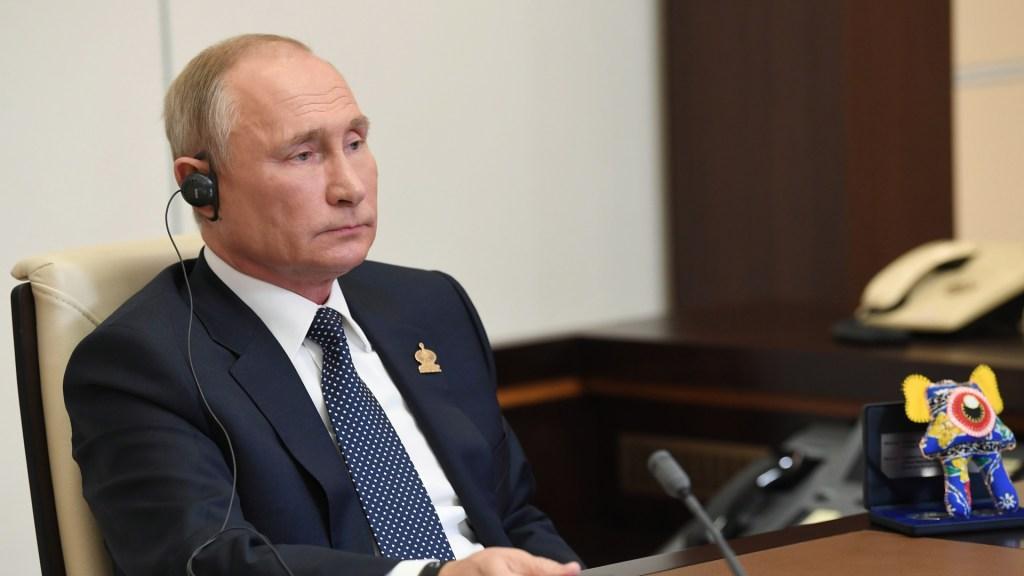 Putin felicitará a ganador hasta que finalice enfrentamiento político Trump-Biden - Vladimir Putin, presidente de Rusia. Foto de EFE