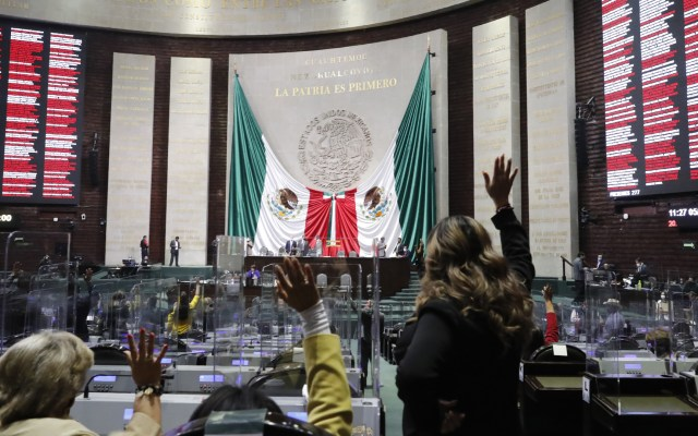 Aprueban diputados reformas a Ley Federal de Derechos del Paquete Económico 2021 - Votación en Pleno de la Cámara de Diputados. Foto de Cámara de Diputados