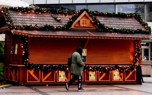 Europa en Navidad: cerrado por coronavirus - Foto de EFE