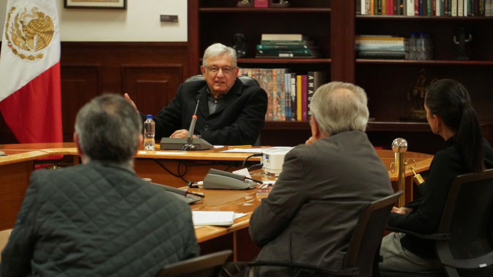 """Dan a conocer protocolo de salud en reuniones de Gabinete; """"no ha habido gran alarma"""": Jorge Alcocer - Foto de @lopezobrador_"""