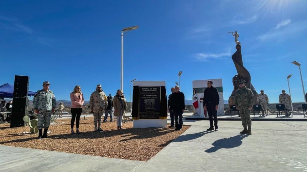 López Obrador inaugura memorial por matanza de familia mormona LeBaron - Foto de lopezobrador.org.mx
