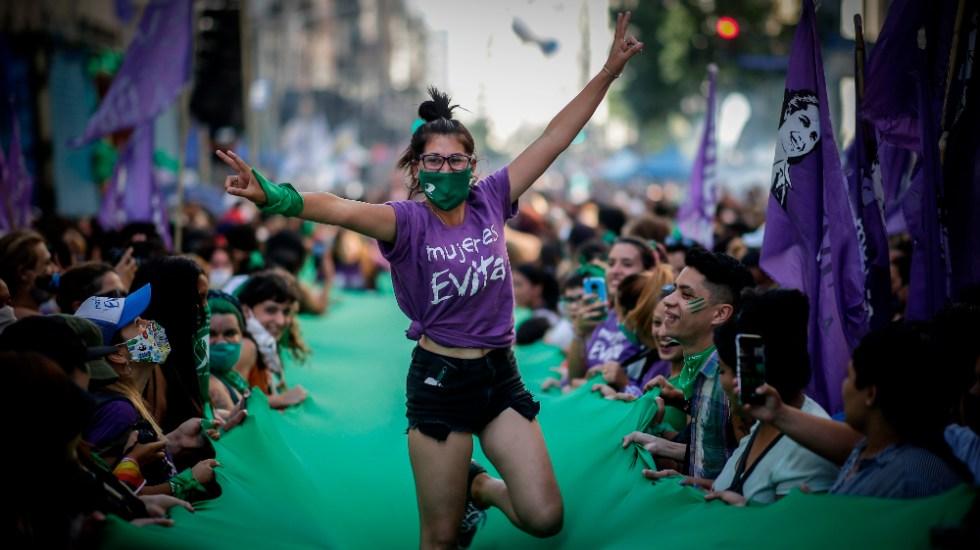 El Senado argentino comienza a debatir la ley del aborto - Foto de EFE
