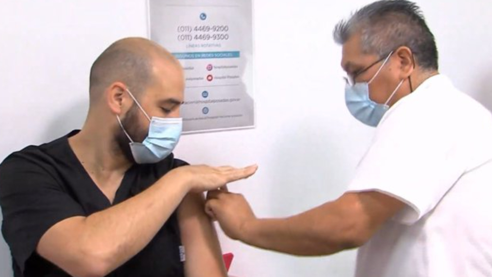 Comienza en Argentina la vacunación contra el COVID-19 con la Sputnik V - Foto de captura de pantalla