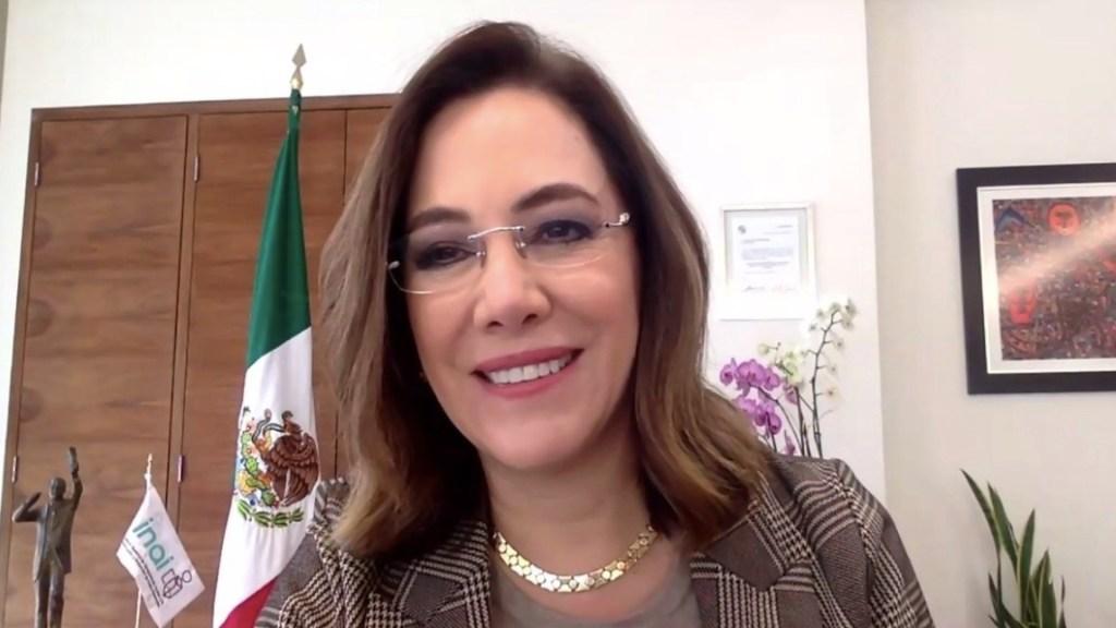 La información se debe poner en una vitrina pública y dar la cara a la gente, asevera Blanca Lilia Ibarra, nueva presidenta del Inai - Foto de Twitter Blanca Lilia Ibarra