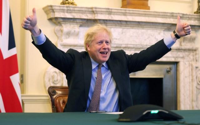 """""""Hemos recuperado el control de nuestro destino"""": Boris Johnson tras acuerdo con Unión Europea - Foto de EFE"""