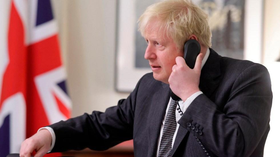 Boris Johnson, de la gloria electoral al estado de convulsión en solo un año - Boris Johnson, de la gloria electoral al estado de convulsión en solo un año. Foto Twitter @BorisJohnson