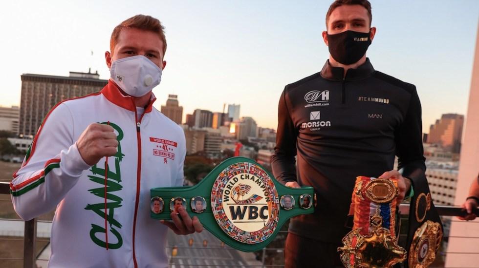 Canelo Álvarez espera cerrar el año con un gran duelo de campeones - Foto de EFE