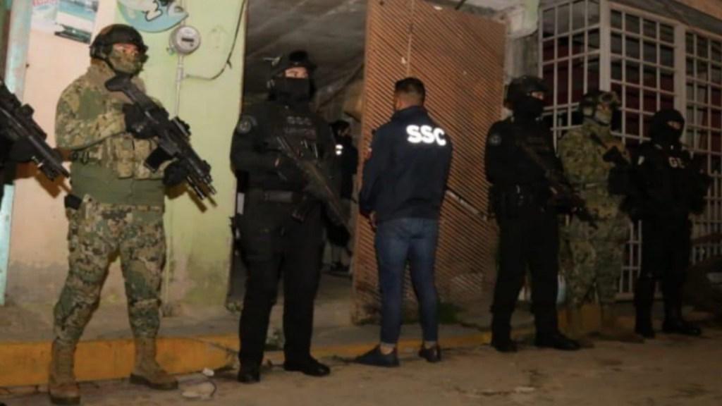 Grupo criminal que asesinó a empresario francés es la primera célula delictiva organizada en su tipo en la Ciudad, confirma García Harfuch - Foto de SSC