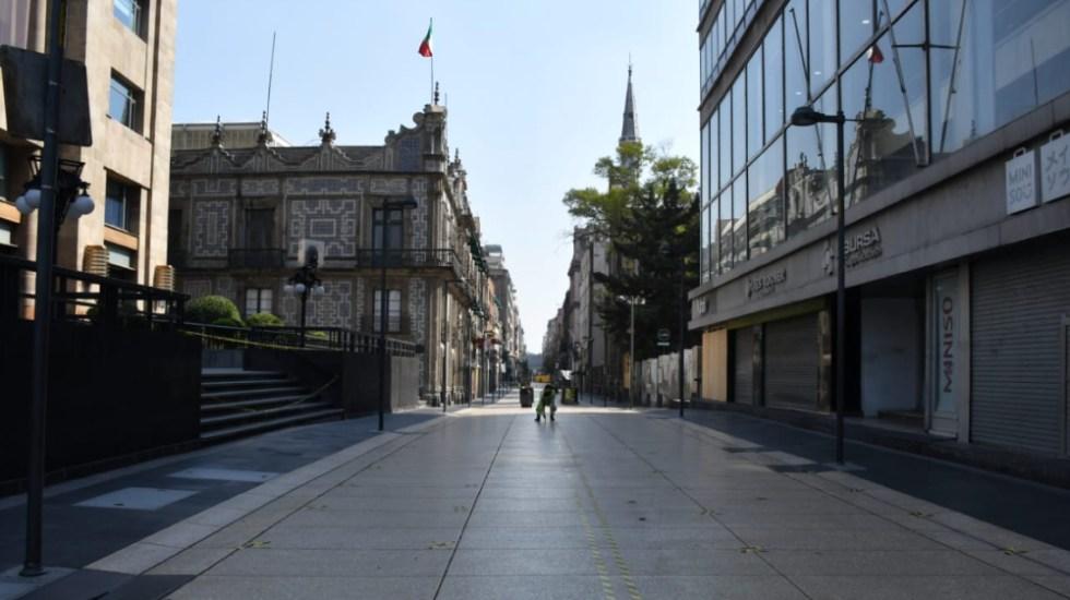 """Metro exhorta a la ciudadanía a no acudir al Centro Histórico de CDMX """"si no es necesario"""" - Foto de @MINAMORENOlex"""