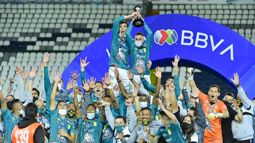 León derrota a Pumas y se corona campeón del Guard1anes 2020; obtiene su octavo título - Club León Campeón Guard1anes 2020