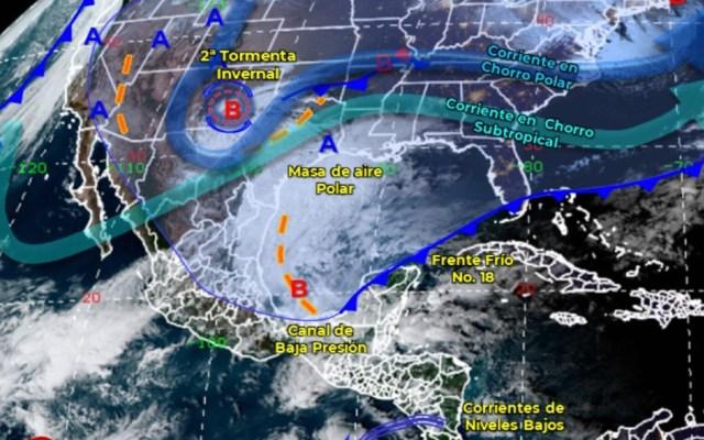 México pronostica lluvias torrenciales e intensas en sureste del país - Foto de Conagua