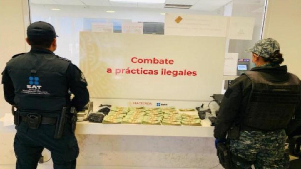 Decomisan cargadores, drogas, cheques y dólares en diversas aduanas del país - Foto de Aduanas México