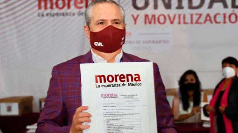 Designación de candidato a gubernatura de Sinaloa se traslada a enero, anuncia Gerardo Vargas - Designación para sacar candidato a la gubernatura de Sinaloa por Morena se traslada para enero Gerardo Vargas Landeros. Foto Twitter @GVargasLanderos