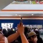 #Videos Enormes filas por liquidación en Best Buy pese a pandemia