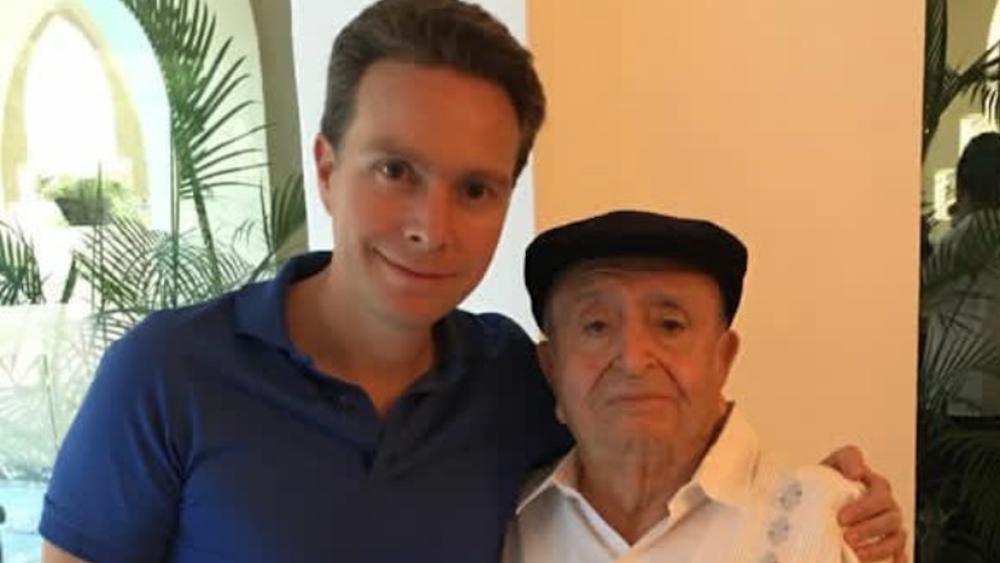 Murió Fernando Coello Pedrero, abuelo del senador Manuel Velasco - Foto de @VelascoM_