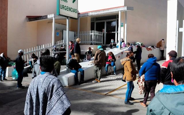 """""""Ya está pasando lo peor"""" en la saturación hospitalaria por COVID-19 en el Valle de México, dijo AMLO - Foto de EFE"""