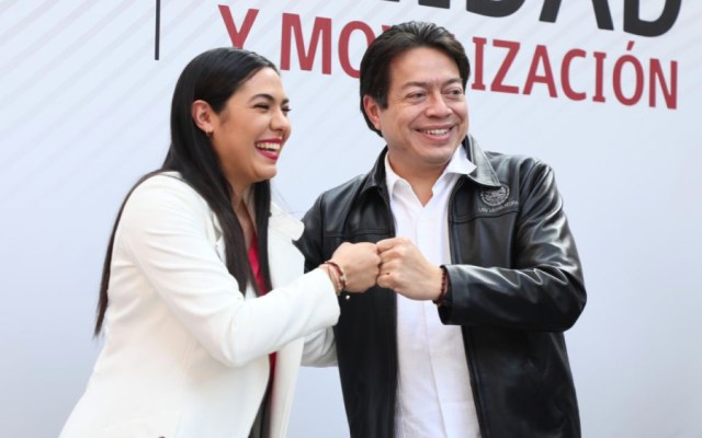 Indira Vizcaíno será candidata de Morena para gubernatura de Colima - Foto de @mario_delgado