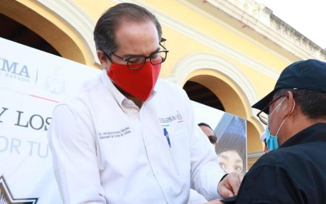 José Ignacio Peralta, gobernador de Colima, da positivo a COVID-19; permanecerá en aislamiento - José Ignacio Peralta