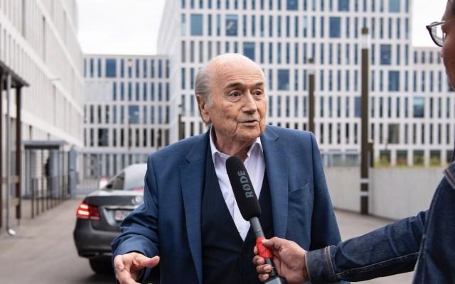 Joseph Blatter revela que superó el COVID-19 - Foto de EFE