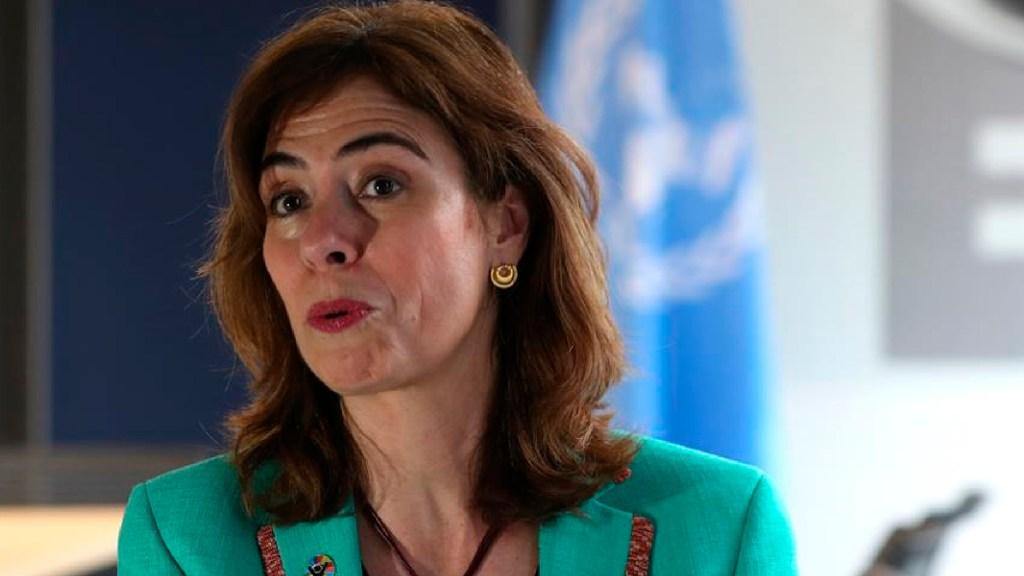 Más de 56 mil mujeres fueron asesinadas en México desde 1990, señala informe - La representante de ONU Mujeres en México, Belén Sanz. Foto EFE