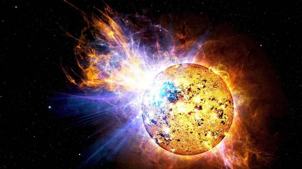 Llamaradas estelares podrían facilitar detección de vida en un planeta - Llamaradas del Sol. Foto de Casey Reed / NASA