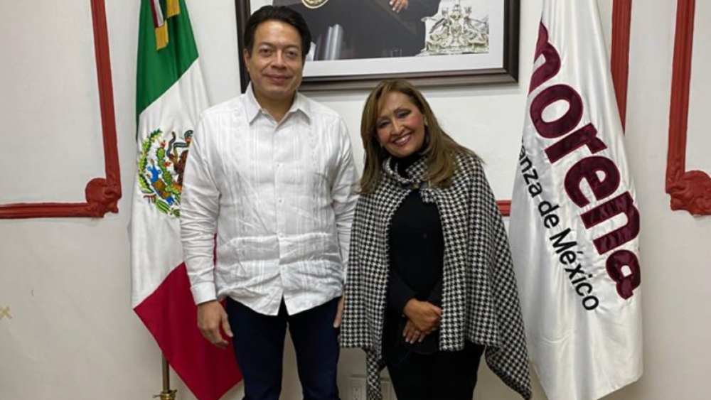 Lorena Cuéllar será la candidata de Morena para la gubernatura de Tlaxcala - Foto de @LorenaCuellar