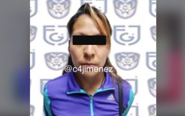 Capturan a mujer que seducía a hombres, los drogaba y robaba sus pertenencias en la CDMX - Foto de @c4jimenez