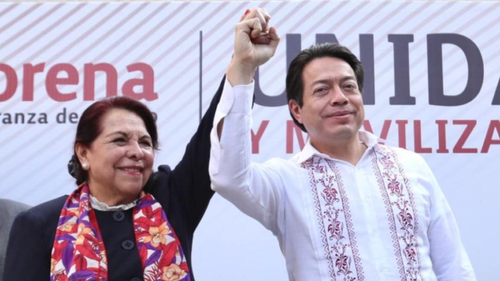 Celia Maya será abanderada de Morena para gubernatura de Querétaro - Foto de Mario Delgado