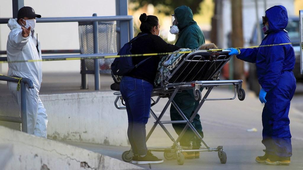 México registró en las últimas 24 horas 9 mil 796 casos y 596 muertes por COVID-19 - México COVID-19 coronavirus pandemia epidemia