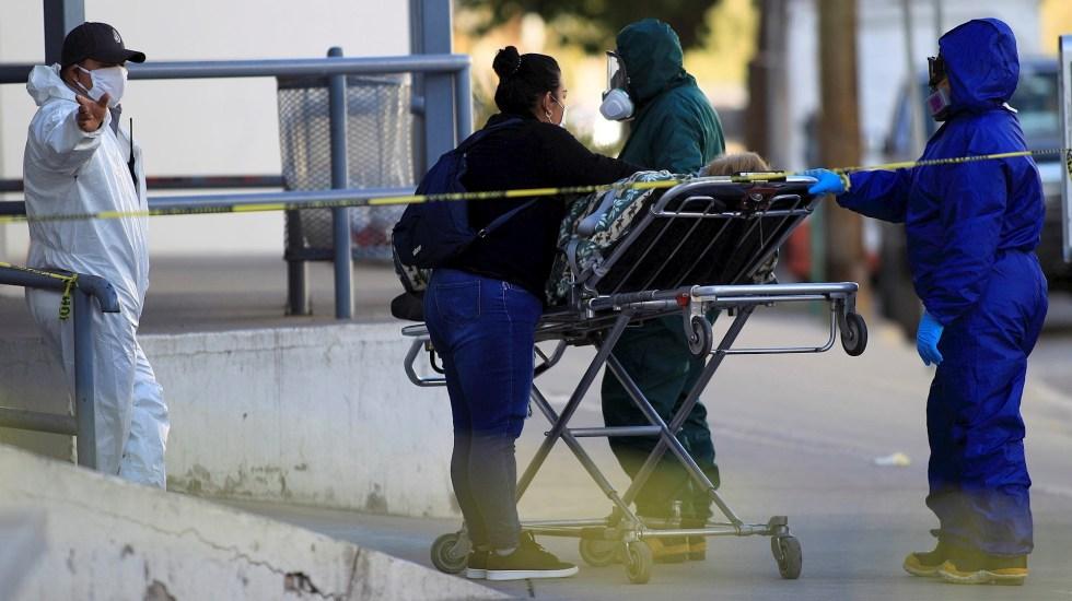 Saturados los hospitales en la Ciudad de México; pacientes recorren la capital en busca de una cama disponible - México COVID-19 coronavirus pandemia epidemia