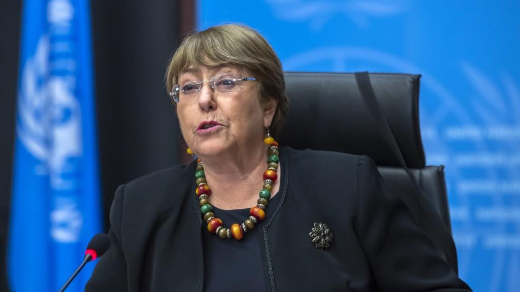 ONU DD.HH. pide al Gobierno de México no descalificar a quienes critican a autoridades - Michelle Bachelet, alta comisionada de la ONU para Derechos Humanos. Foto de EFE