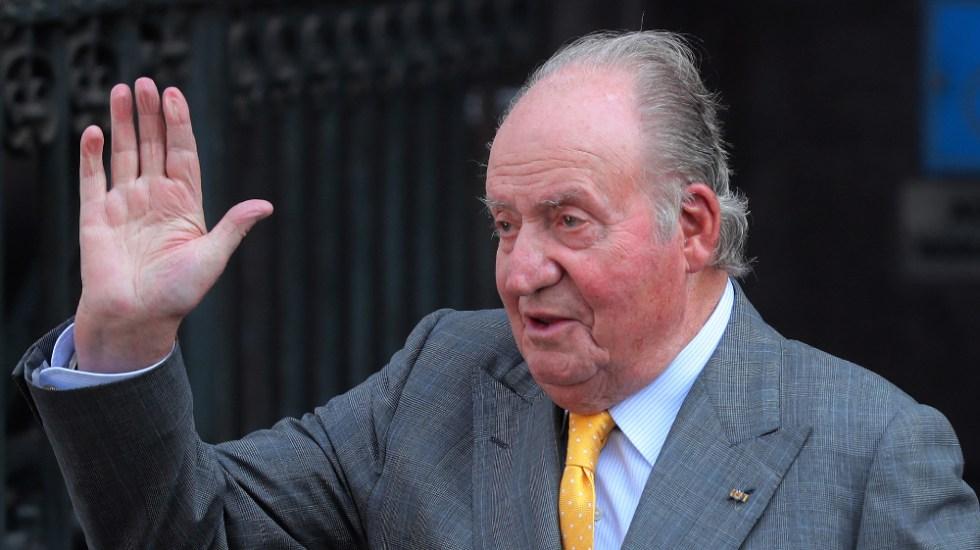 Casa real española desmiente que rey Juan Carlos esté ingresado por COVID-19 - Foto de EFE