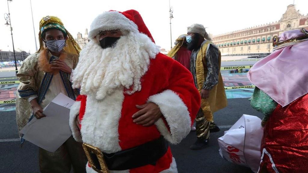 Reyes Magos protestan en la Ciudad de México; exigen que los dejen trabajar en época decembrina -