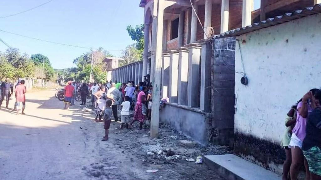 Hallan muerta en Guerrero a niña de 9 años reportada como desaparecida - Comunidad de San Nicolás en Guerrero donde asesinaron a niña de 9 años. Foto de @vocesguerrero